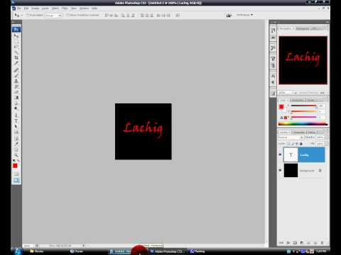 how to create an adobe photoshop icon