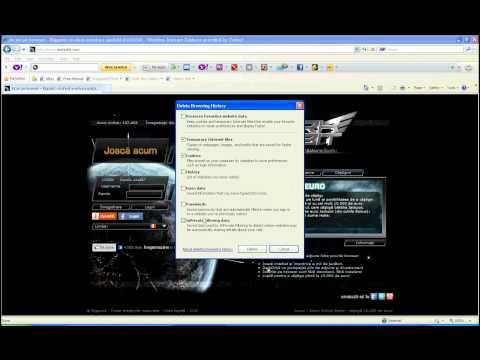 Stergere Cookies si Memoria Cache pentru Internet Explorer 8