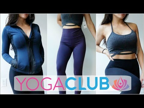 Cute & Affordable Fitness Clothing | YOGACLUB Subscription Box