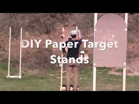 DIY Cheap and Easy Target Stands