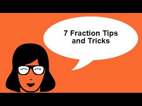 7 shortcuts for solving fractions in record time