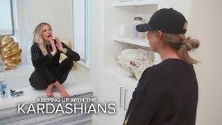 KUWTK | Khloé Kardashian Finds Out She's Pregnant --OMG! | E!