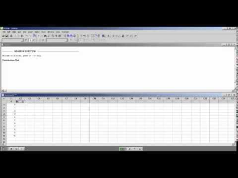 Plotting binomial probability distributions in Minitab