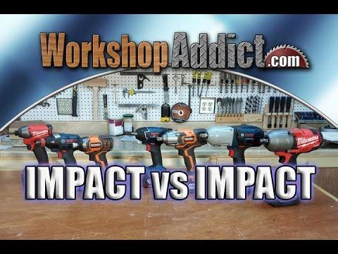 IMPACT DRIVER vs IMPACT WRENCH
