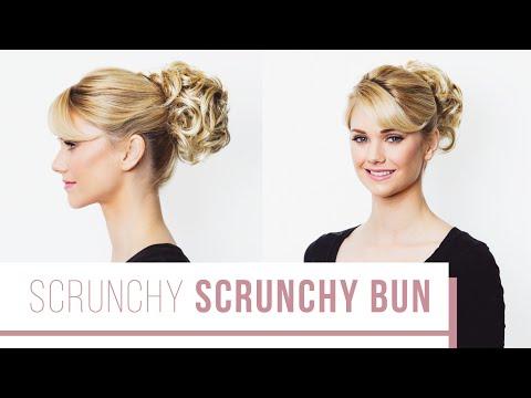Scrunchy Bun Tutorial