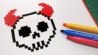 Halloween Pixel Art How To Draw Scream Mask Pixelart
