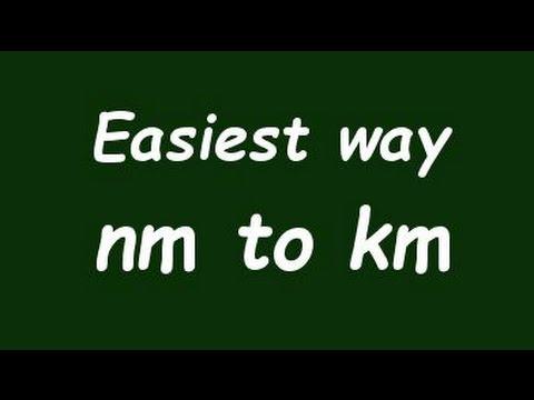 ✅ Convert Nanometer to Kilometer (nm to Km) - Example and Formula