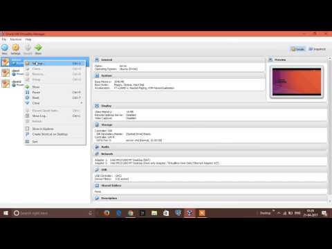 DHCP Server-Client Configuration (Ubuntu Virtual Machines)   PART 1 OF 2
