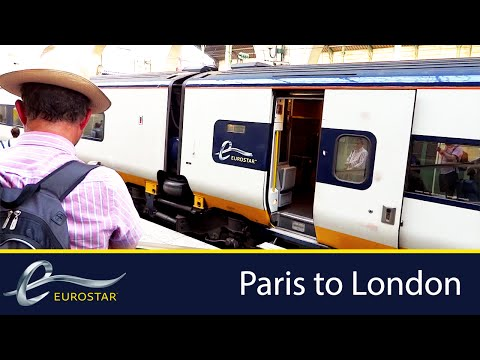 Eurostar | Paris to London | Gare du Nord to St Pancras