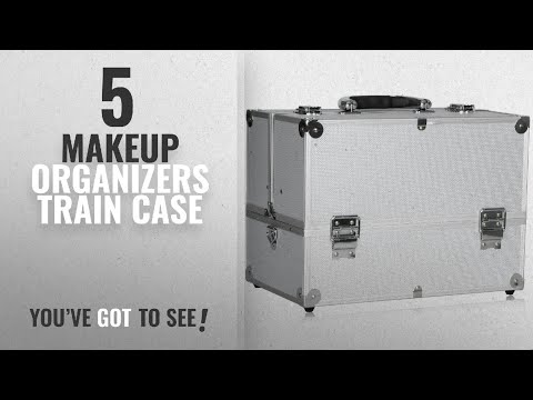 Top 10 Makeup Organizers Train Case [2018]: BATHWA 14