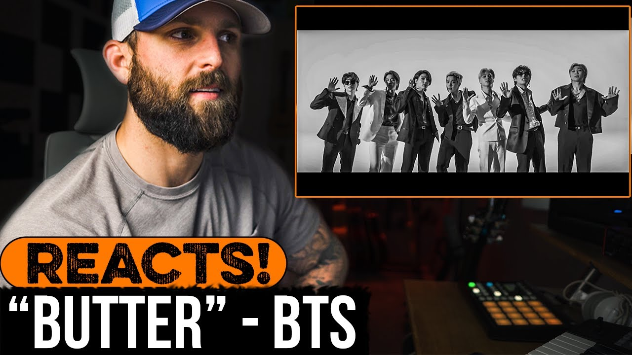 """REACTING to BTS - """"Butter"""""""