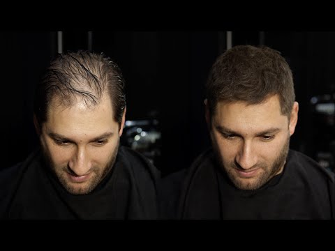 How to cut & disguise thinning hair | MR. JAMIE STEVENS