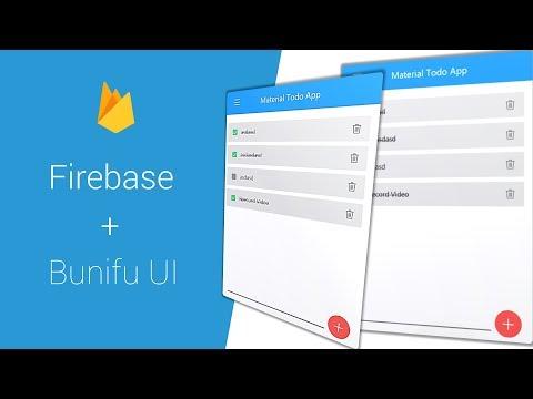 FIREBASE - MATERIAL TODO WINFORM APP   C#  VB .NET  -  Bunifu UI 1.5.3 + Bunifirebase 1.0.0