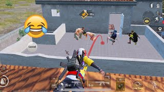 Best Trolling Of Noobs Again 😄🤣 | PUBG MOBILE FUNNY MOMENTS