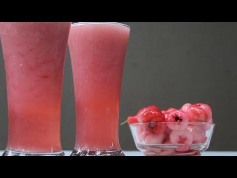 പൊരിയുന്ന  ചൂടിൽ ഒരാശ്വാസം ചാമ്പക്ക ജ്യൂസ് ||Rose Apple Juice
