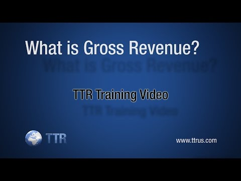 What is Gross Revenue?