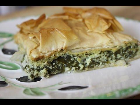 How to make THE BEST  Greek Spinach Pie / SPANAKOPITA
