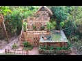 Download Build Beautiful Swimming pool & House Villa Using wooden in Will MP3,3GP,MP4