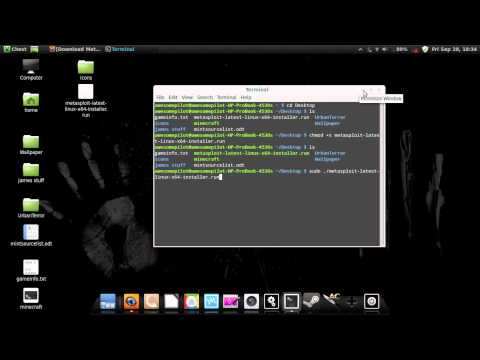 How to install metasploit in Linux Mint Cannamon