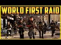 The Division 2 WORLD FIRST RAID Last 5 Minutes