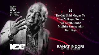 13. Rahat Indori - Hamari Association Mushaira - Dubai 2012
