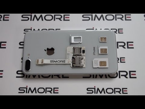 iPhone 8 Plus Triple SIM - Use 3 numbers on the iPhone 8 or 8 Plus with SIMore WX-Triple 8 Plus