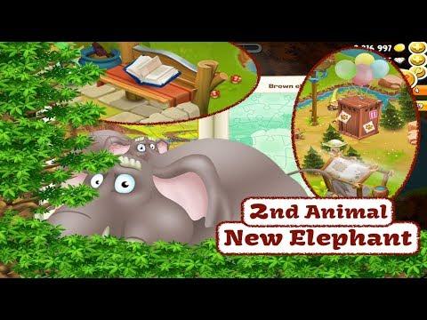 Hay Day - 2nd Animal New Elephant