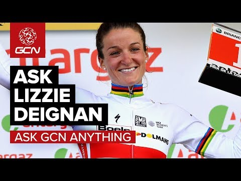 Lizzie Deignan Special Episode | Ask GCN Anything About Cycling