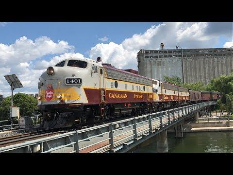 CP Canada 150 train at Montreal, QC