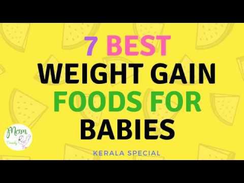 7 Best Weight Gain Foods For Babies & Kids   Kerala Baby Foods