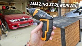 BEST SCREWDRIVER Tacklife SDP50DC Advanced Cordless Screwdriver Video Review