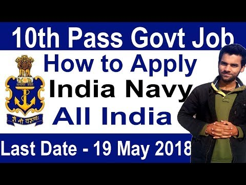 Indian Navy 10th Pass Latest Govt Job, How to Apply Online All India Vacancy Naval Dockyard