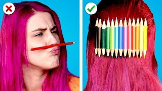 10 Fun and Useful DIY School Supplies Ideas and School Hacks