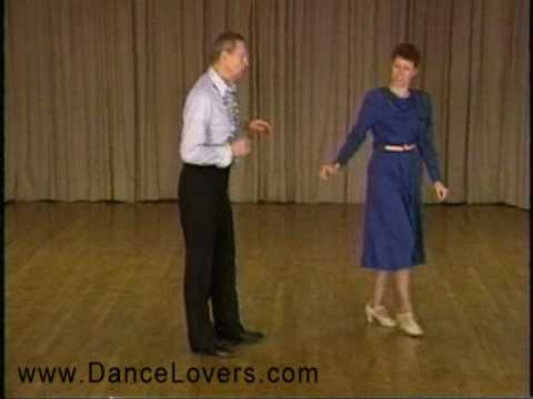 Learn to Dance the Ballad - Basic Step - Ballroom Dancing