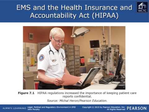EMS Leadership & Management - Legal 07: Records Retention Privacy and Confidentiality