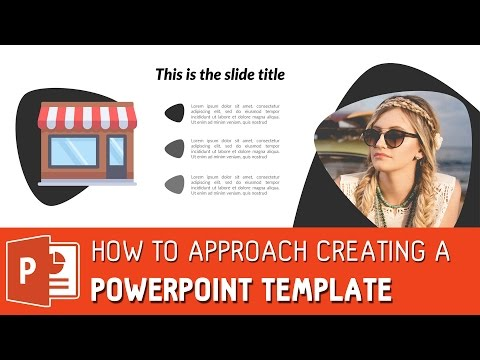 Powerpoint template design - How to design a powerpoint template ✔
