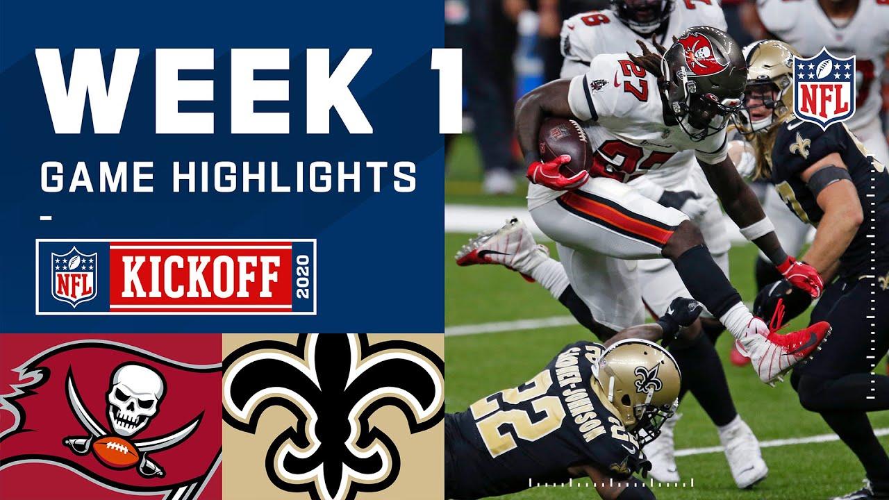 Buccaneers vs. Saints Week 1 Highlights   NFL 2020