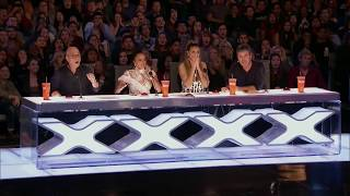Artist Risks His Life During AGT Audition - America