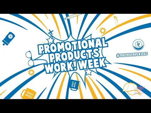 Promotional Products Work! Week: Our Team's Favorite Branded Items