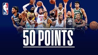 Every 50-Point Game So Far This NBA Season (Giannis, Harden, Lillard, LeBron, Curry, KD, and More!)