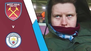 WEST HAM UNITED VS MANCHESTER CITY (FA Cup Third Round)
