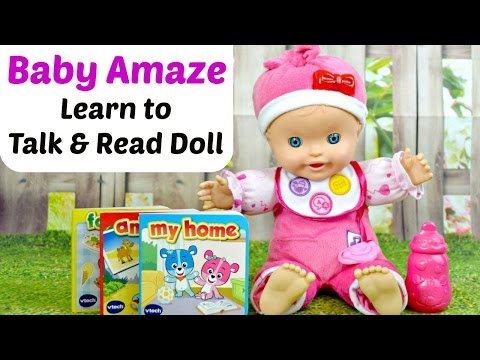 Vtech Baby Amaze Learn to Talk & Read Baby Doll Review & Play Time