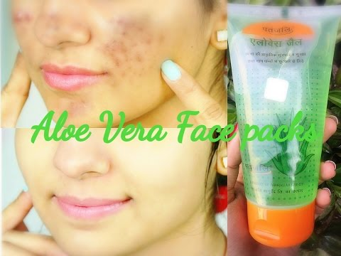 Patanjali Aloe Vera Face Packs to Remove Dark Spots, Acne Scars & Pimple Marks