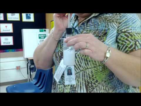 Limewater CO2 Reaction