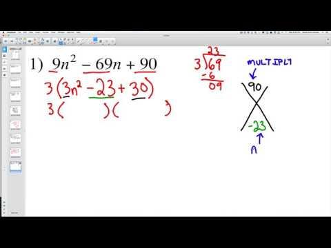 Factoring Complex Polynomials 1