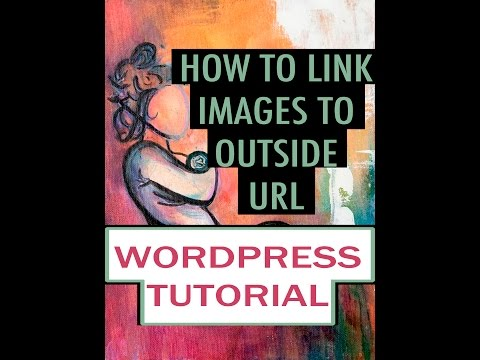 WordPress Tutorial - How To Create URL Links to Pictures (Clickable Pictures)