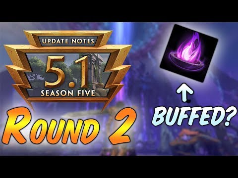 Mage's Blessing Indirectly Buffed?! SMITE PATCH 5.1: PTS Changes
