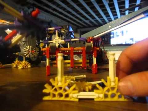 building a knex truck part 2