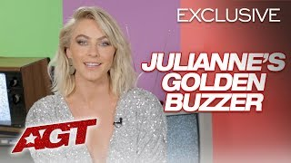 Julianne Hough Sends A Heartfelt Congratulations To Luke Islam - America's Got Talent 2019