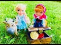 Download Video Download TREASURE HUNT Surprise Box Opening with DISNEY ANNA and ELSA Toys Toddler Frozen Dolls! 3GP MP4 FLV